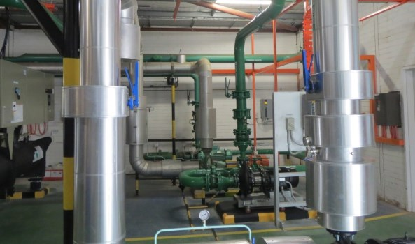 Curtin University Building 612 Chiller Plant